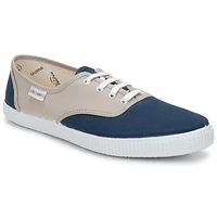 Scarpe Sneakers basse Victoria INGLESA BICOLOR Beige / Petrolio