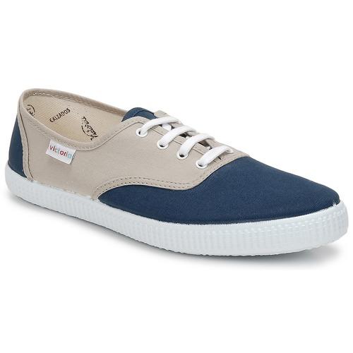 Victoria INGLESA BICOLOR Beige / Petrolio Scarpe Sneakers basse 23,40