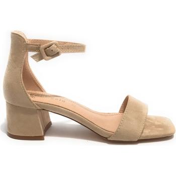 Scarpe Donna Derby & Richelieu Gold&gold Scarpe donna sandalo  TC 55 ecosuede beige DS21GG24