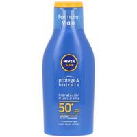 Bellezza Protezione solare Nivea Sun Protege&hidrata Leche Spf50  100 ml