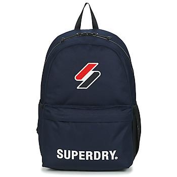 Borse Zaini Superdry SUPERDRY CODE MONTANA Blu