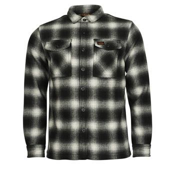 Abbigliamento Uomo Giubbotti Superdry Wool Miller Overshirt Nero