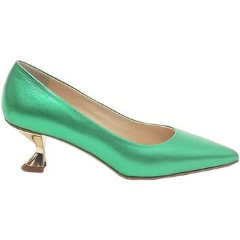 Scarpe Donna Décolleté Fittipaldi Giancarlo  donna, scarpe pelle laminata verde