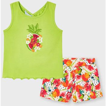 Abbigliamento Bambina Completo Mayoral ATRMPN-26296 Verde