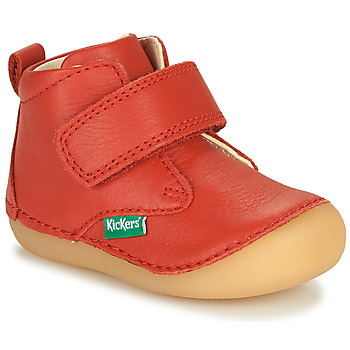 Scarpe Unisex bambino Stivaletti Kickers SABIO Rosso