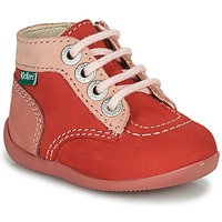 Scarpe Bambina Stivaletti Kickers BONZIP-2 Rosa
