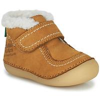 Scarpe Bambina Stivaletti Kickers SOMOONS Camel