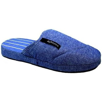 Scarpe Uomo Pantofole De Fonseca M304 AZZURRO