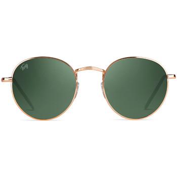 Orologi & Gioielli Occhiali da sole Twig DELACROIX Verde