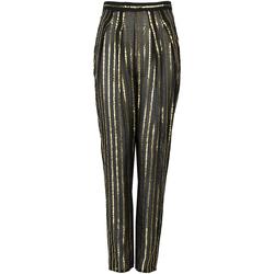 Abbigliamento Donna Pantaloni morbidi / Pantaloni alla zuava Patrizia Pepe  Nero