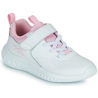 Scarpe Bambina Sneakers basse Reebok Sport RUSH RUNNER Bianco / Rosa