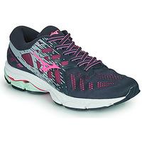 Scarpe Donna Running / Trail Mizuno WAVE ULTIMA 11 Blu / Rosa