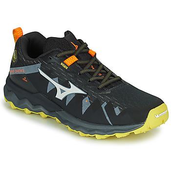 Scarpe Uomo Running / Trail Mizuno WAVE DAICHI 4 Nero / Arancio