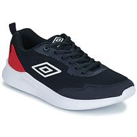 Scarpe Unisex bambino Sneakers basse Umbro LAGO LACE Blu / Rosso