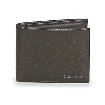 Borse Uomo Portafogli Calvin Klein Jeans WARMTH BIFOLD 5CC W/COIN Marrone