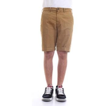 Abbigliamento Uomo Shorts / Bermuda 40weft SERGENTBE 6011 Bermuda Uomo cuoio cuoio