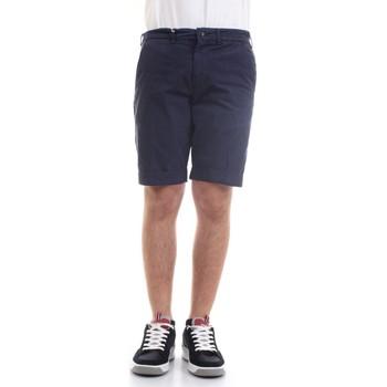 Abbigliamento Uomo Shorts / Bermuda 40weft SERGENTBE 6011 Bermuda Uomo blu blu