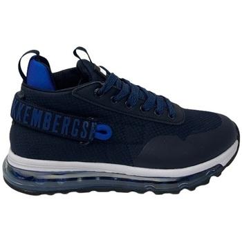 Scarpe Uomo Sneakers alte Bikkembergs K3B4-20573-0034X605 Blu