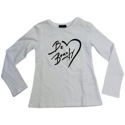 Abbigliamento Donna T-shirts a maniche lunghe Fun Fun FNBTS5467  041 Bianco