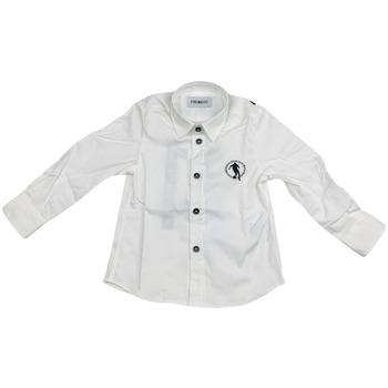 Abbigliamento Uomo Camicie maniche lunghe Bikkembergs BK0006002 Bianco