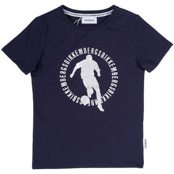 Abbigliamento Bambino T-shirt maniche corte Bikkembergs BK0232003 Blu