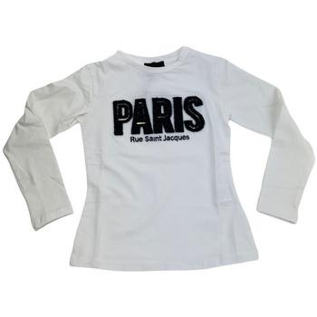 Abbigliamento Donna T-shirts a maniche lunghe Fun Fun FNBTS6353  041 Bianco