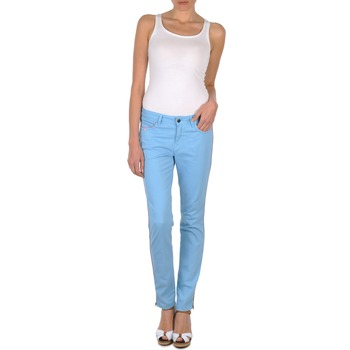 Abbigliamento Donna Pantaloni 5 tasche Brigitte Bardot AUBE Blu