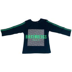 Abbigliamento Bambino T-shirts a maniche lunghe Bikkembergs BK0083005 Blu