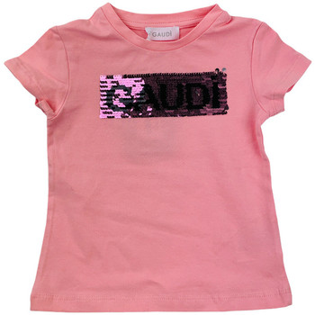 Abbigliamento Bambina T-shirt & Polo Gaudi GAF02301012 Rosa