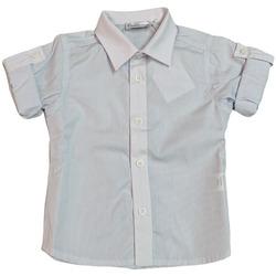 Abbigliamento Uomo Camicie maniche corte Ciccino 3ECC535 BIANCO CIELO Blu