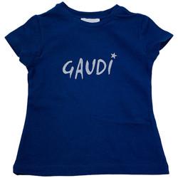 Abbigliamento Donna T-shirt maniche corte Gaudi GAF02300011 Blu