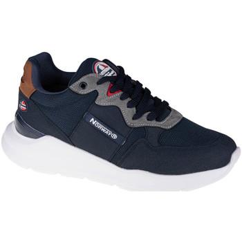 Scarpe Uomo Sneakers basse Geographical Norway Shoes Bleu marine