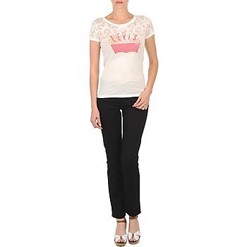 Abbigliamento Donna Jeans slim Levi's CL DC SLIM 5 PKT Nero