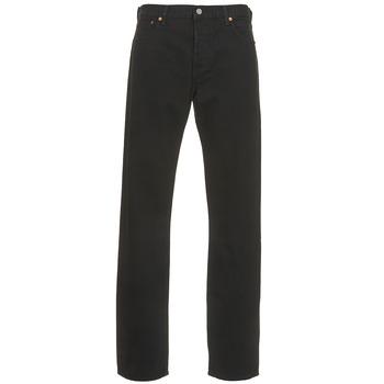Abbigliamento Uomo Jeans dritti Levi's 501 LEVIS ORIGINAL FIT Black