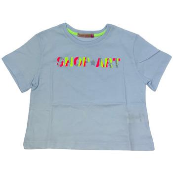 Abbigliamento Donna T-shirt maniche corte Shop Art 021114  01 Bianco