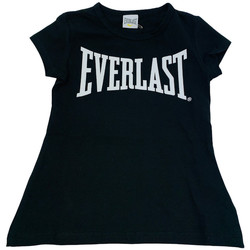 Abbigliamento Donna T-shirt maniche corte Everlast 028068  110 Nero