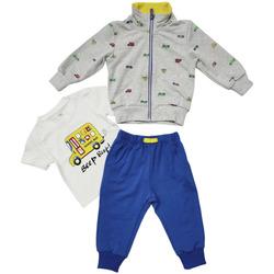 Abbigliamento Uomo Tuta Boyzone BL37614  GRIGIO Grigio