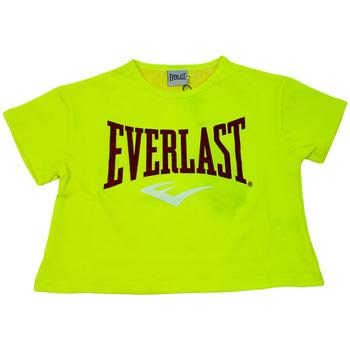 Abbigliamento Donna T-shirt maniche corte Everlast 028051  023 Giallo