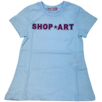 Abbigliamento Donna T-shirt maniche corte Shop Art 021151  01 Bianco