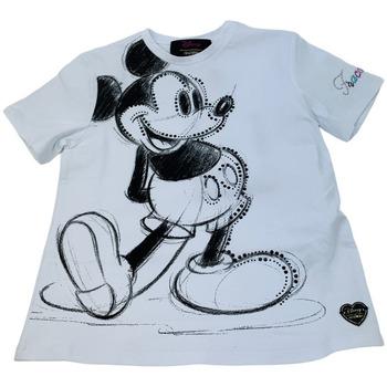 Abbigliamento Donna T-shirt maniche corte Fracomina FF21ST3031J401N5-278 Bianco