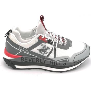 Scarpe Uomo Sneakers basse Beverly Hills 21HM634 Bianco-grigio