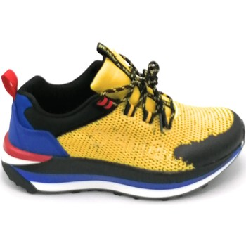 Scarpe Uomo Sneakers basse Beverly Hills 21HM634 Giallo-blu