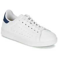 Scarpe Uomo Sneakers basse Yurban SATURNA Bianco / Marine