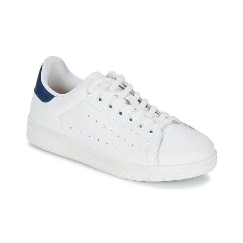 Yurban SATURNA Bianco / Marine  Scarpe Sneakers basse Uomo 65