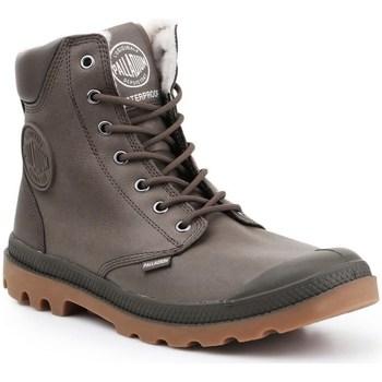 Scarpe Uomo Sneakers alte Palladium Manufacture Pampa HI Grigio