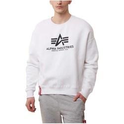 Abbigliamento Uomo Felpe Alpha Basic OS Bianco