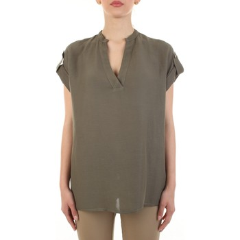 Abbigliamento Donna Top / Blusa White Wise WW1319 Militare