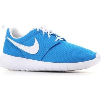 Scarpe Unisex bambino Sneakers basse Nike Roshe One GS Turchese