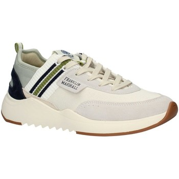 Scarpe Uomo Sneakers basse Franklin & Marshall FFIE0027T Basse Uomo WHITE GREEN NAVY WHITE GREEN NAVY