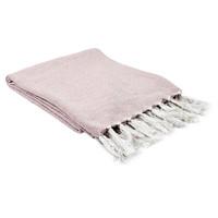 Casa Plaid, coperte The home deco factory SOPHIE Bianco rosato / Pale